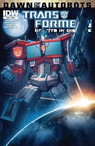 Transformers: Robots In Disguise (2011-) #28: Dawn of the Autobots