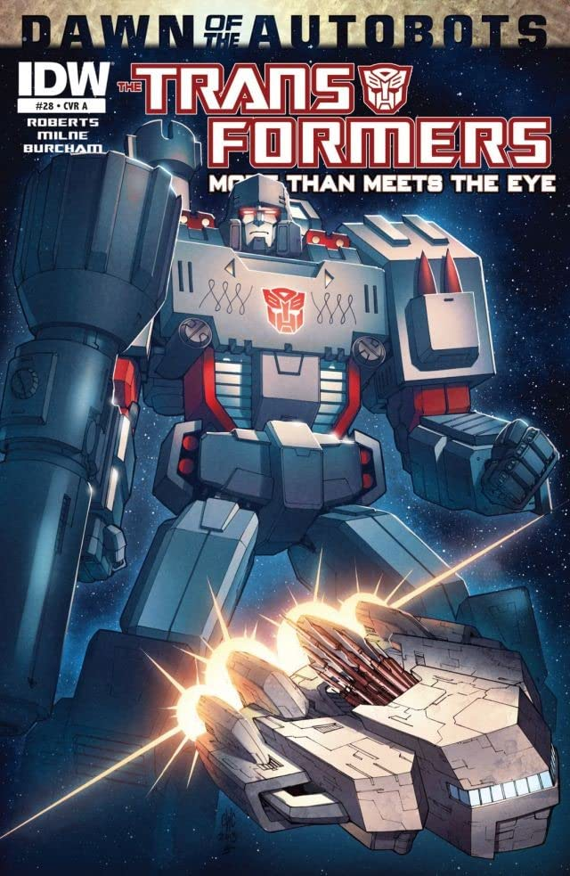Transformers: More Than Meets the Eye (2011-2016) #28: Dawn of the Autobots