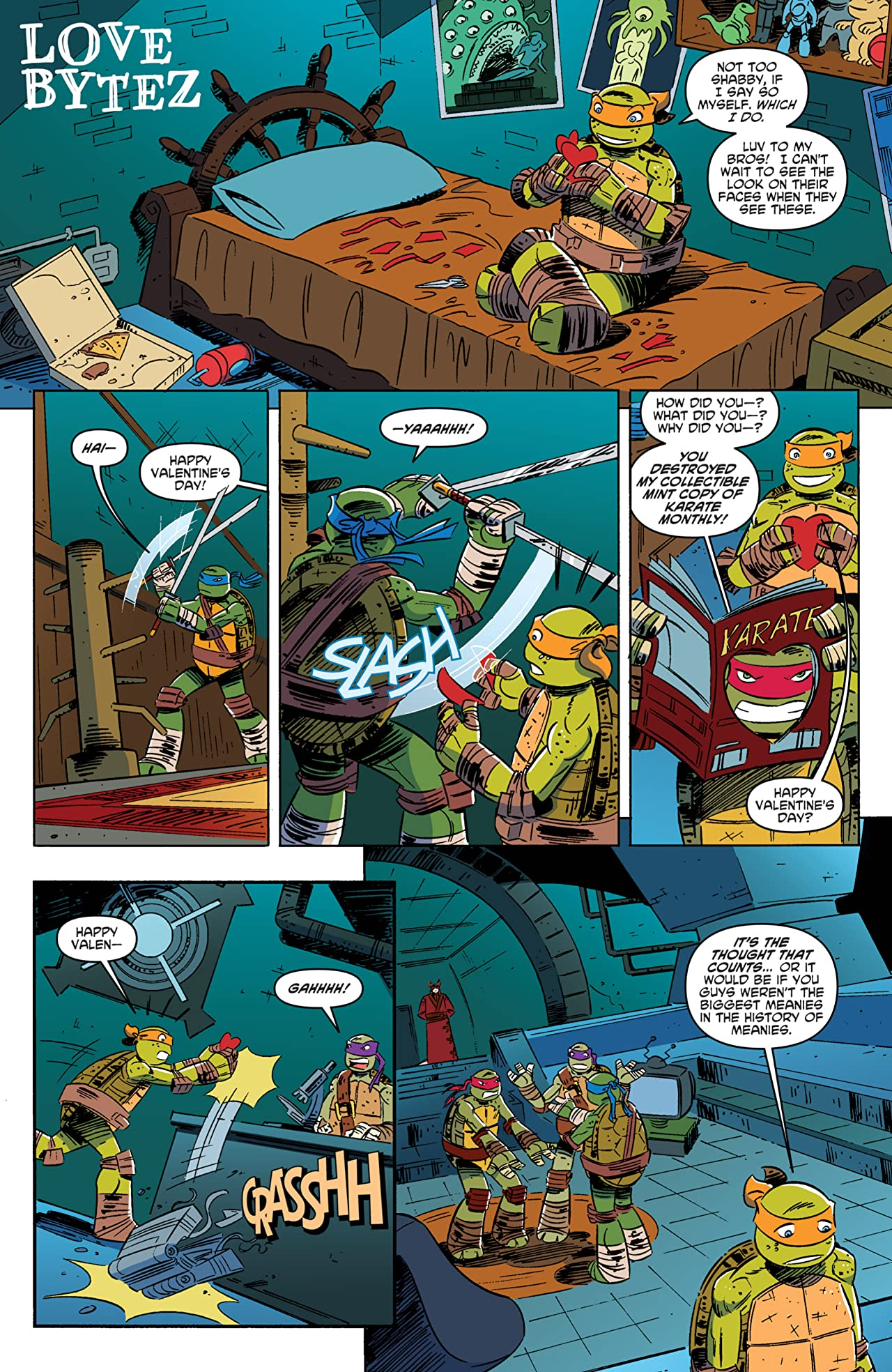 Teenage Mutant Ninja Turtles: New Animated Adventures #10