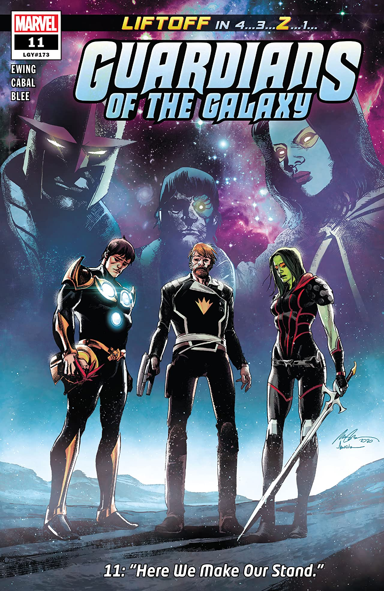 Guardians Of The Galaxy (2020-) No.11