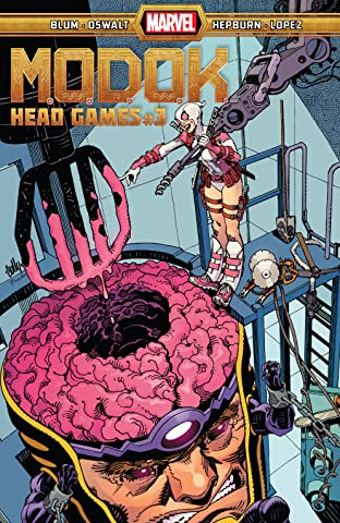 M.O.D.O.K.: Head Games (2020-) #3 (of 4)