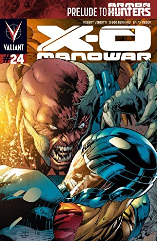 X-O Manowar (2012- ) No.24: Digital Exclusives Edition