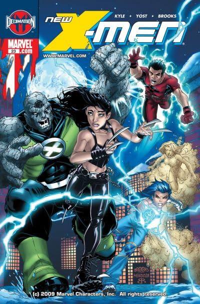 New X-Men (2004-2008) #23