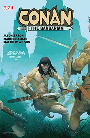 Conan The Barbarian by Aaron & Asrar
