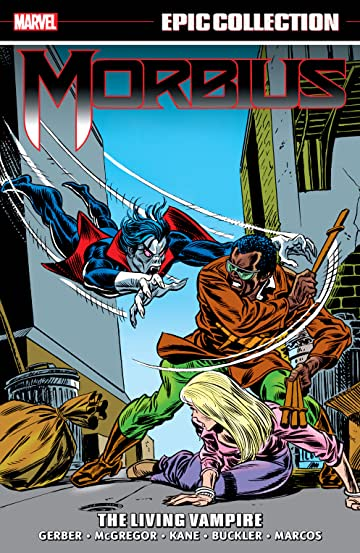 Morbius Epic Collection: The Living Vampire