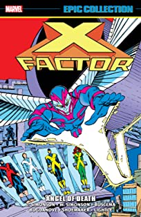 X-Factor Epic Collection: Angel Of Death