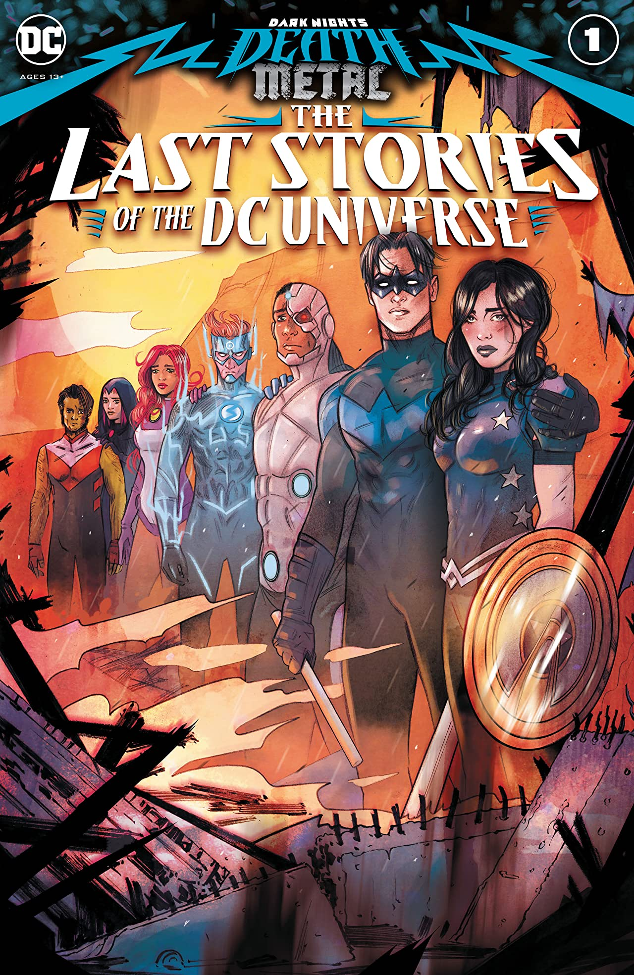 Dark Nights: Death Metal: The Last Stories of the DC Universe (2020-) No.1