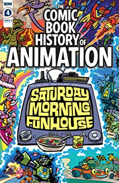 Comic Book History of Animation #4 (of 5)