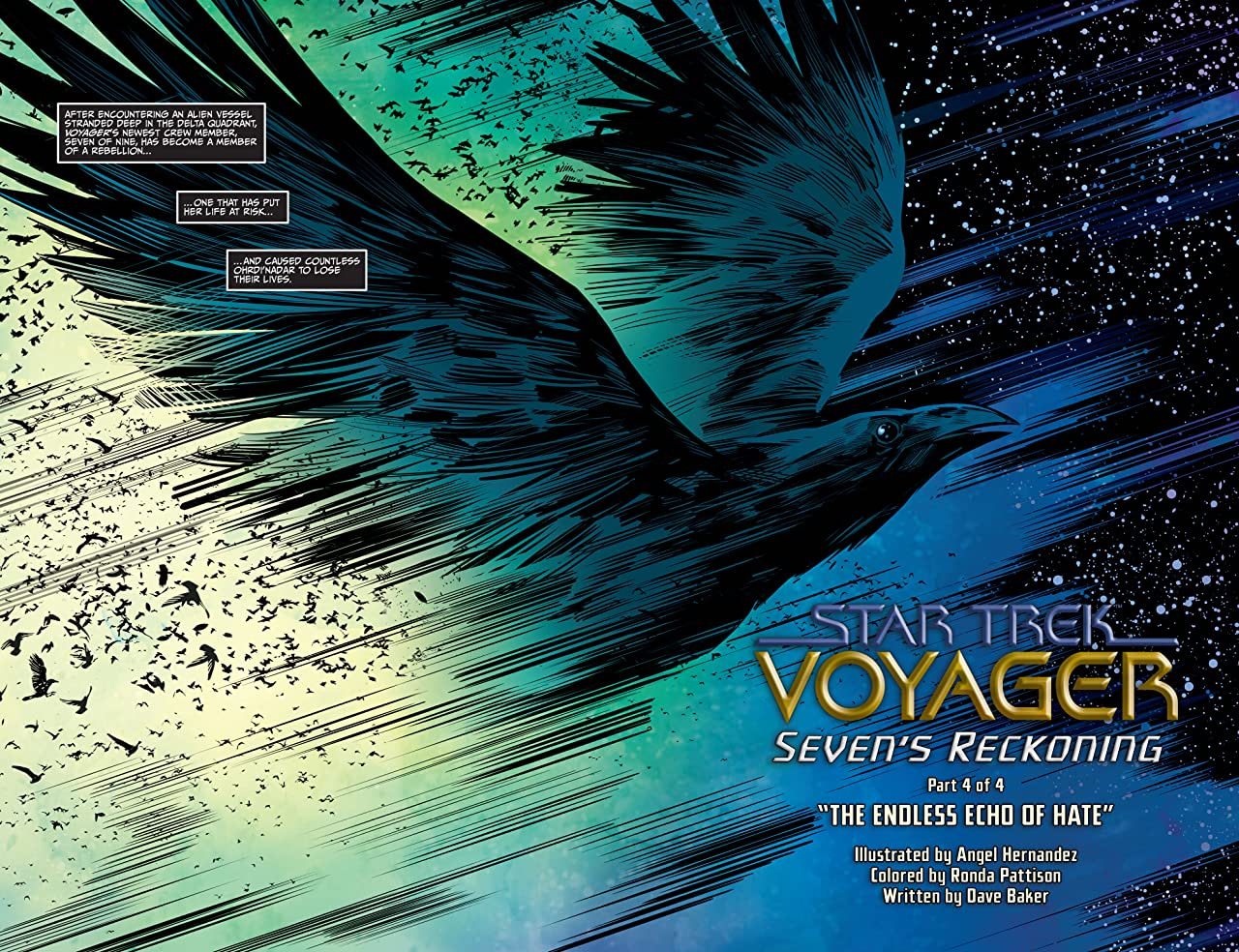 Star Trek: Voyager—Seven's Reckoning #4 (of 4)