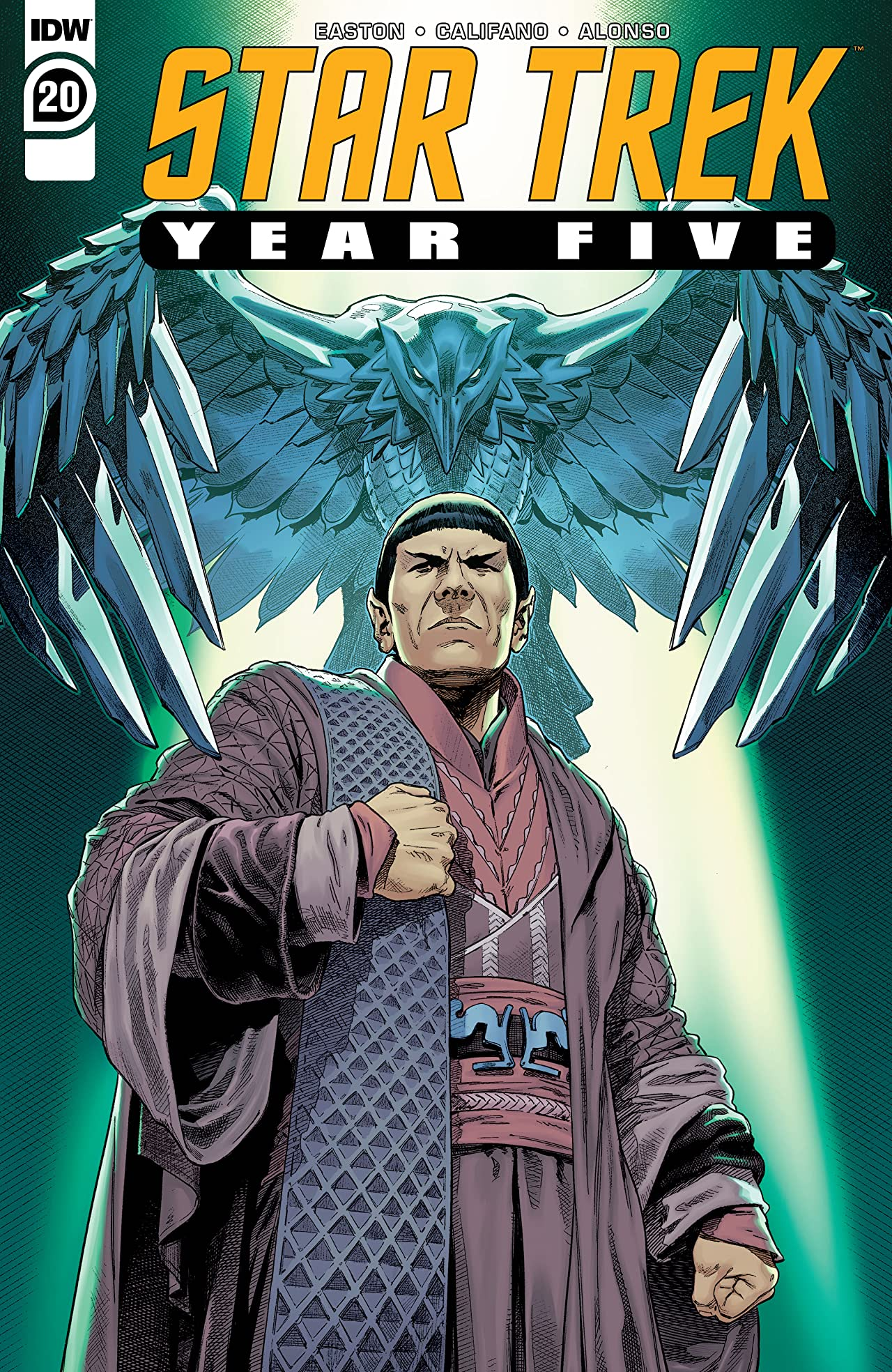 Star Trek: Year Five #20