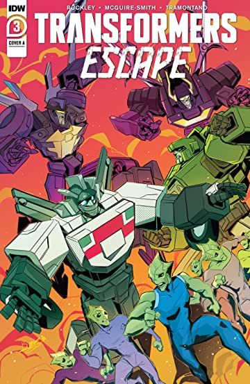 Transformers: Escape #3 (of 5)