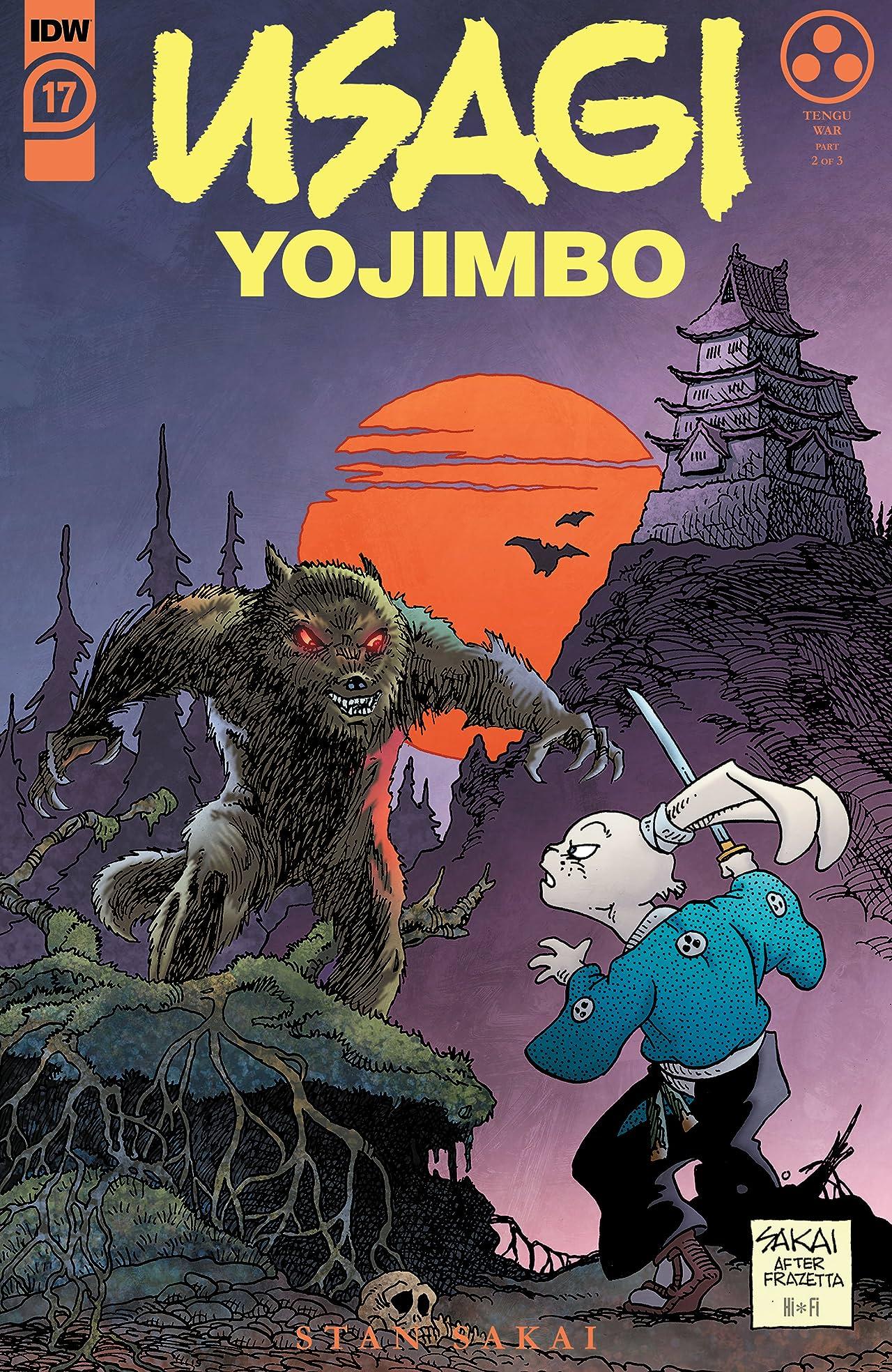 Usagi Yojimbo (2019-) #17