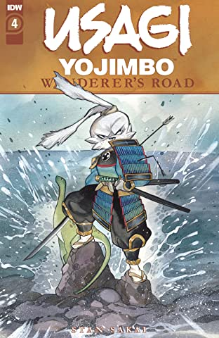 Usagi Yojimbo: Wanderer's Road #4 (of 7)