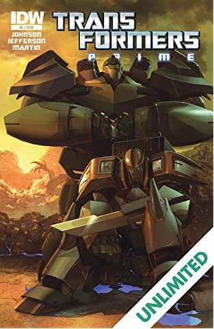 Transformers: Prime #2 (of 4)
