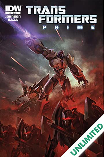 transformers prime 3 of 4 comics by comixology