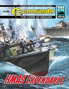 Commando #5395: HMAS Expendable