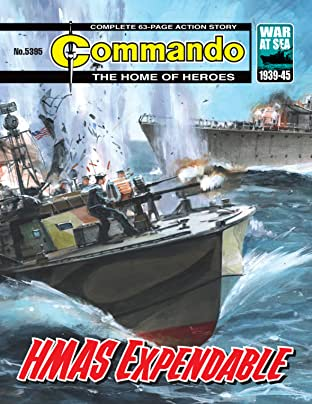 Commando #5395: HMAS Expendable