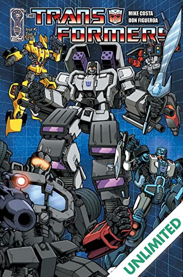 Transformers (2010-2011) #5