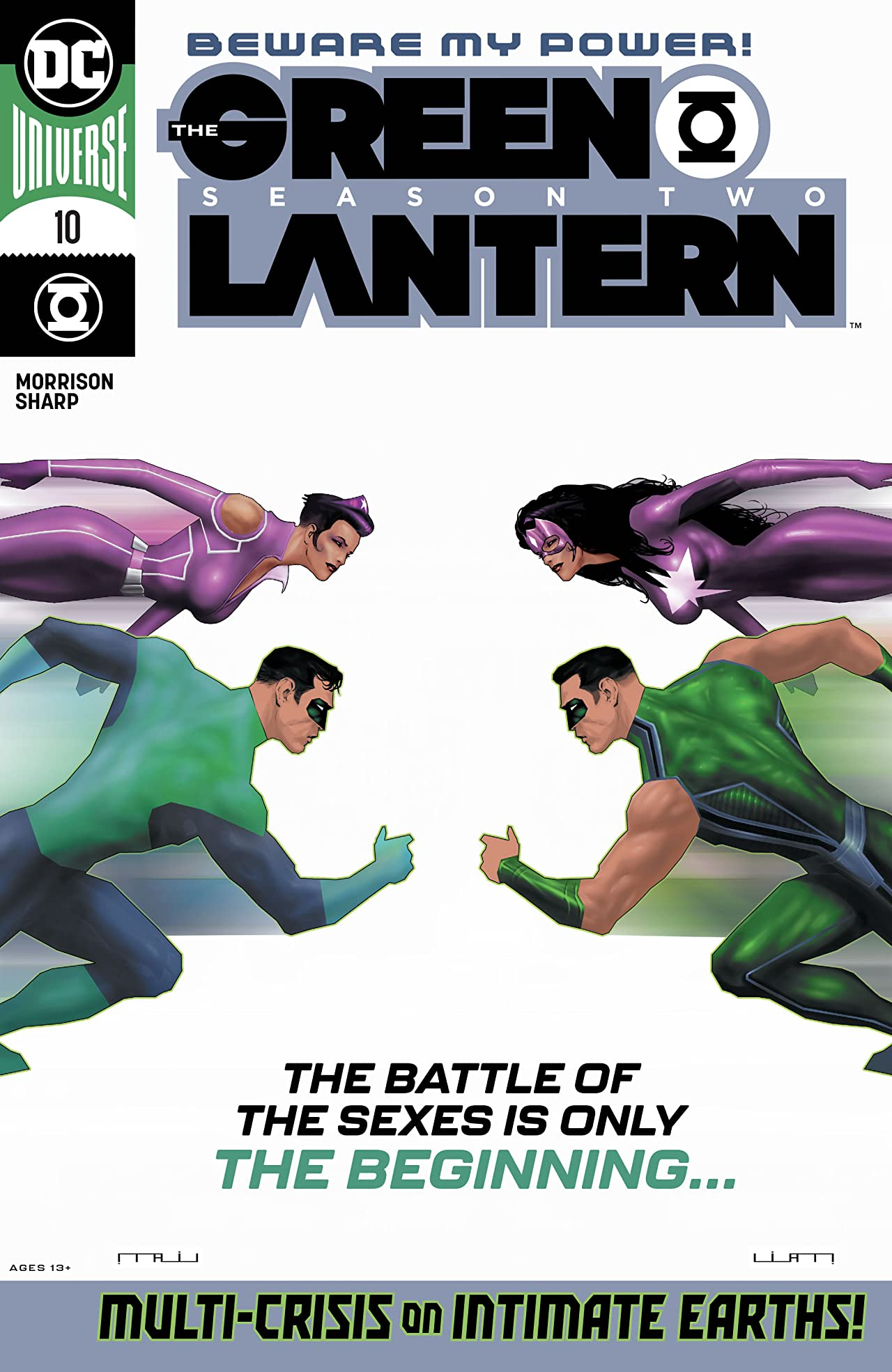 The Green Lantern Season Two (2020-2021) No.10