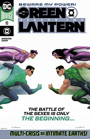 The Green Lantern Season Two (2020-2021) #10