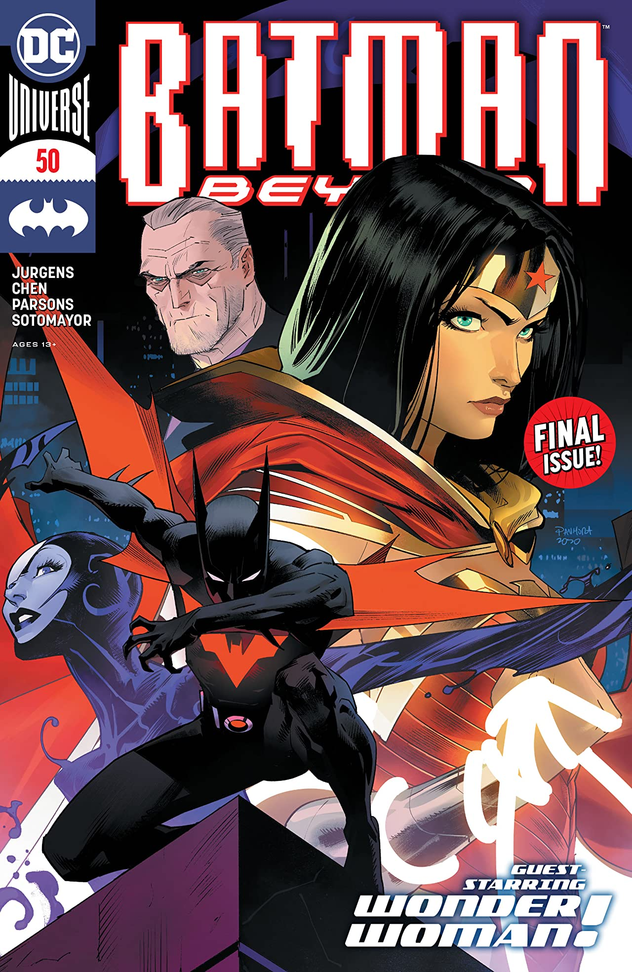 Batman Beyond (2016-) No.50