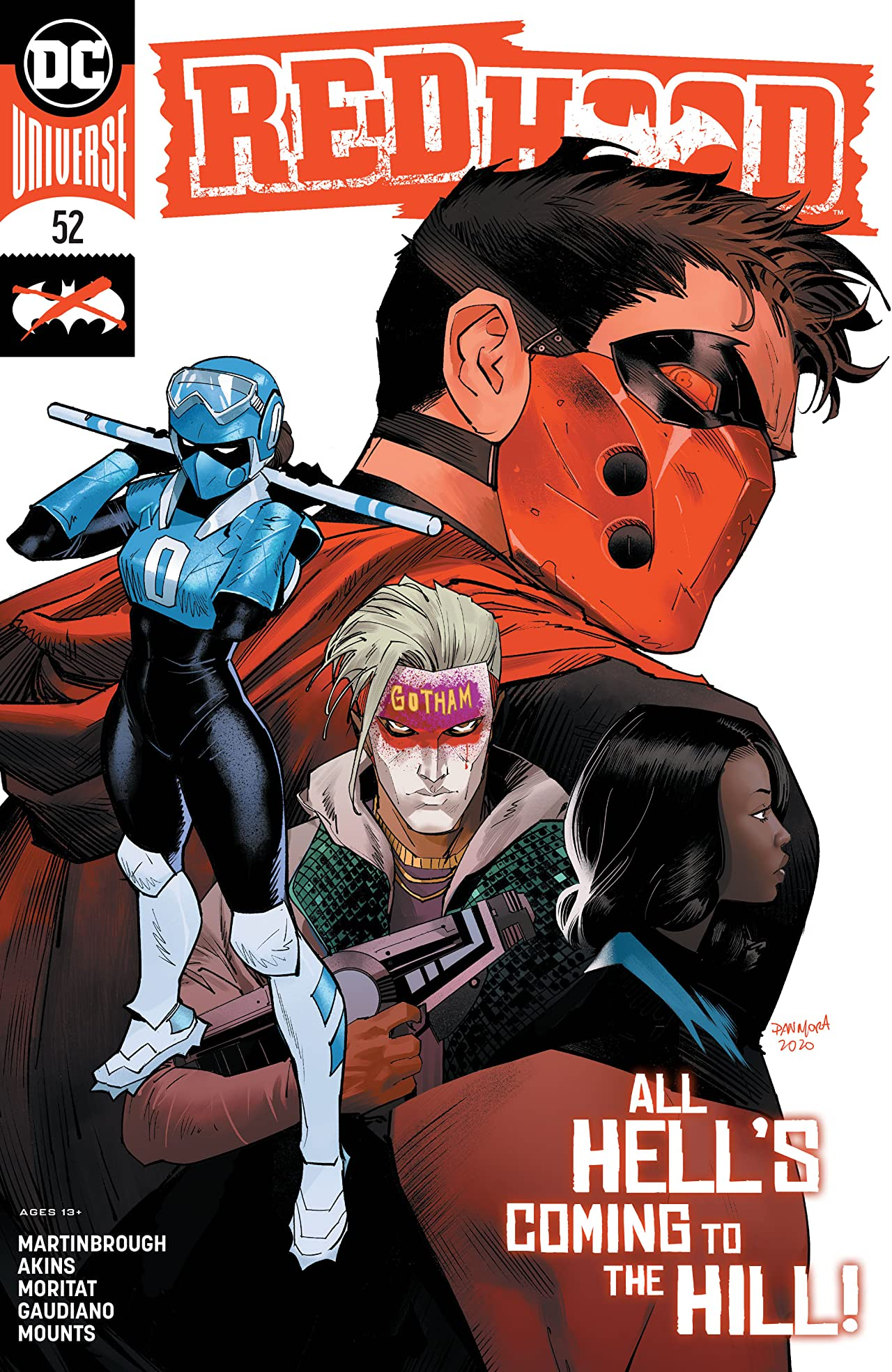 Red Hood: Outlaw (2016-) No.52