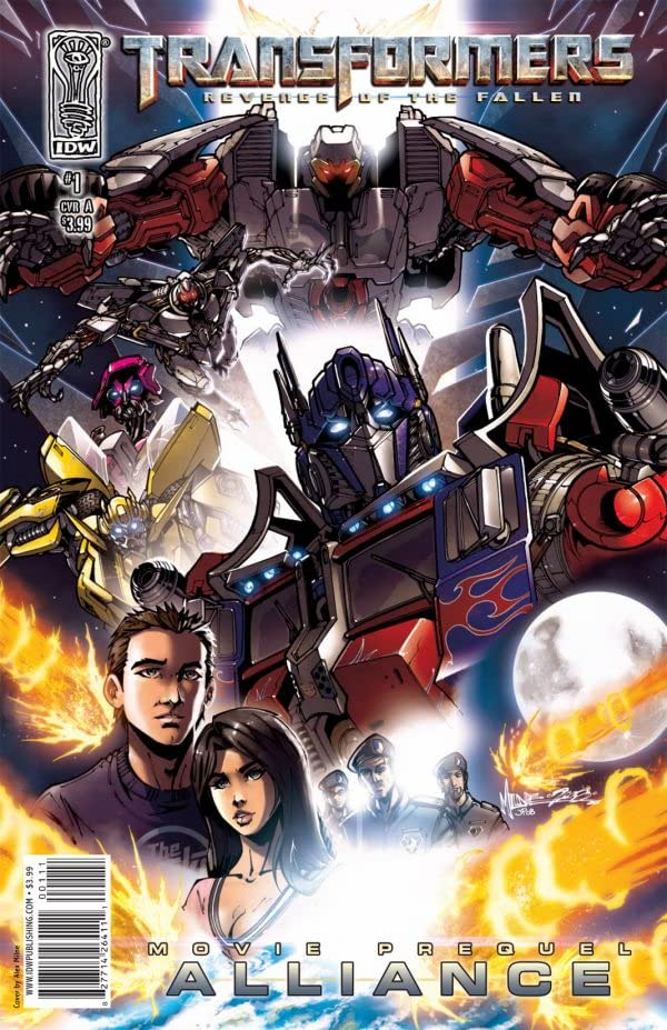 Transformers: Alliance - The Revenge of the Fallen Movie Prequel #1