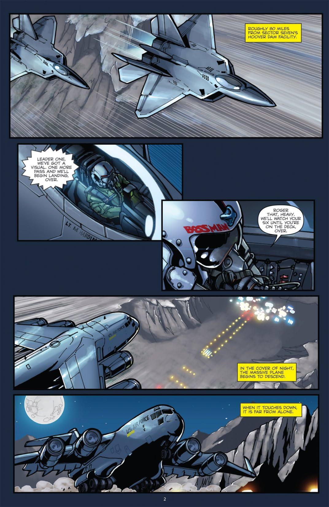 Transformers: Alliance - The Revenge of the Fallen Movie Prequel #1