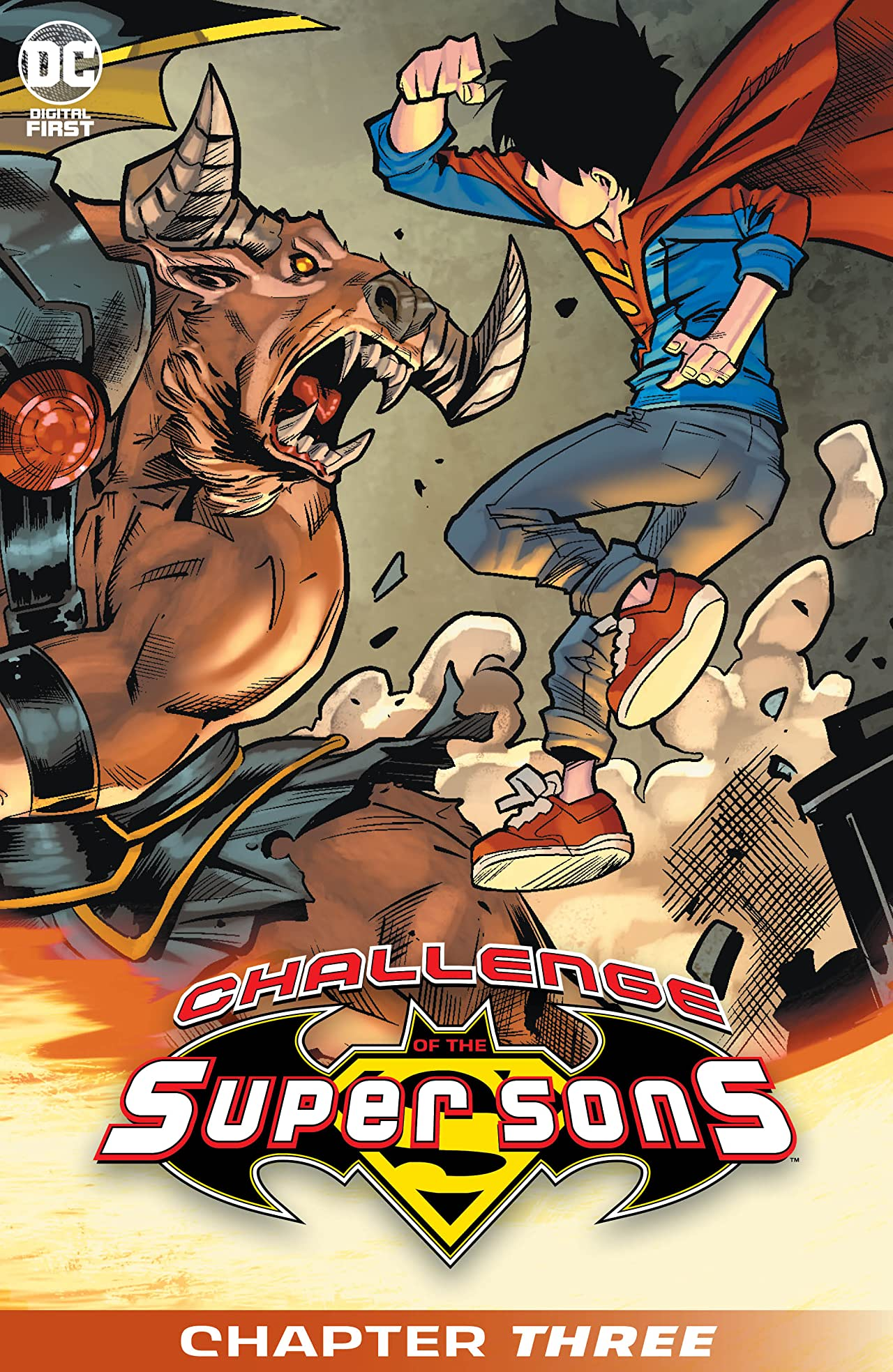 Challenge of the Super Sons (2020-) No.3