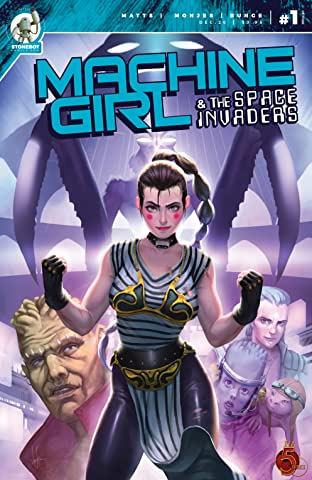Machine Girl Vol. 2 #1: And the Space Invaders