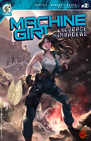Machine Girl Vol. 2 #2: And the Space Invaders