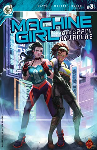 Machine Girl Vol. 2 #3: And the Space Invaders
