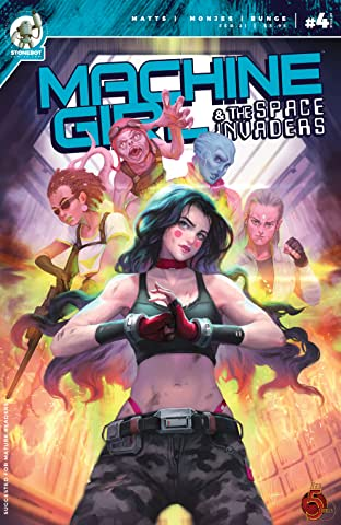 Machine Girl Tome 2 No.4: And the Space Invaders