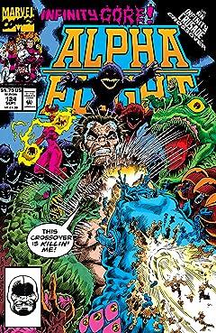 Alpha Flight (1983-1994) #124