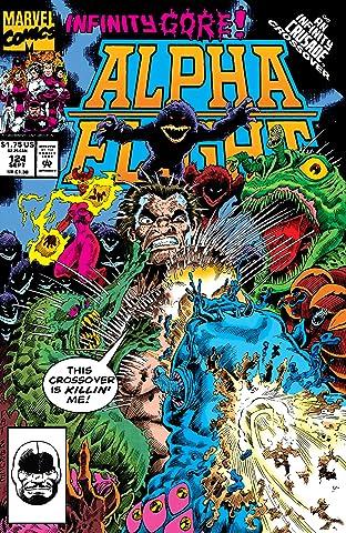 Alpha Flight (1983-1994) No.124