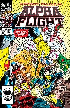Alpha Flight (1983-1994) #127