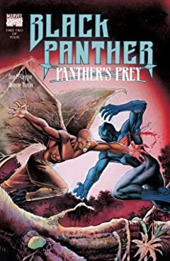 Black Panther: Panther's Prey (1991) #2 (of 4)