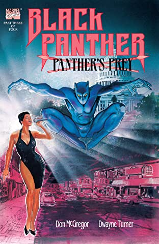 Black Panther: Panther's Prey (1991) #3 (of 4)