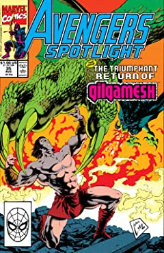 Avengers Spotlight (1989-1991) #35