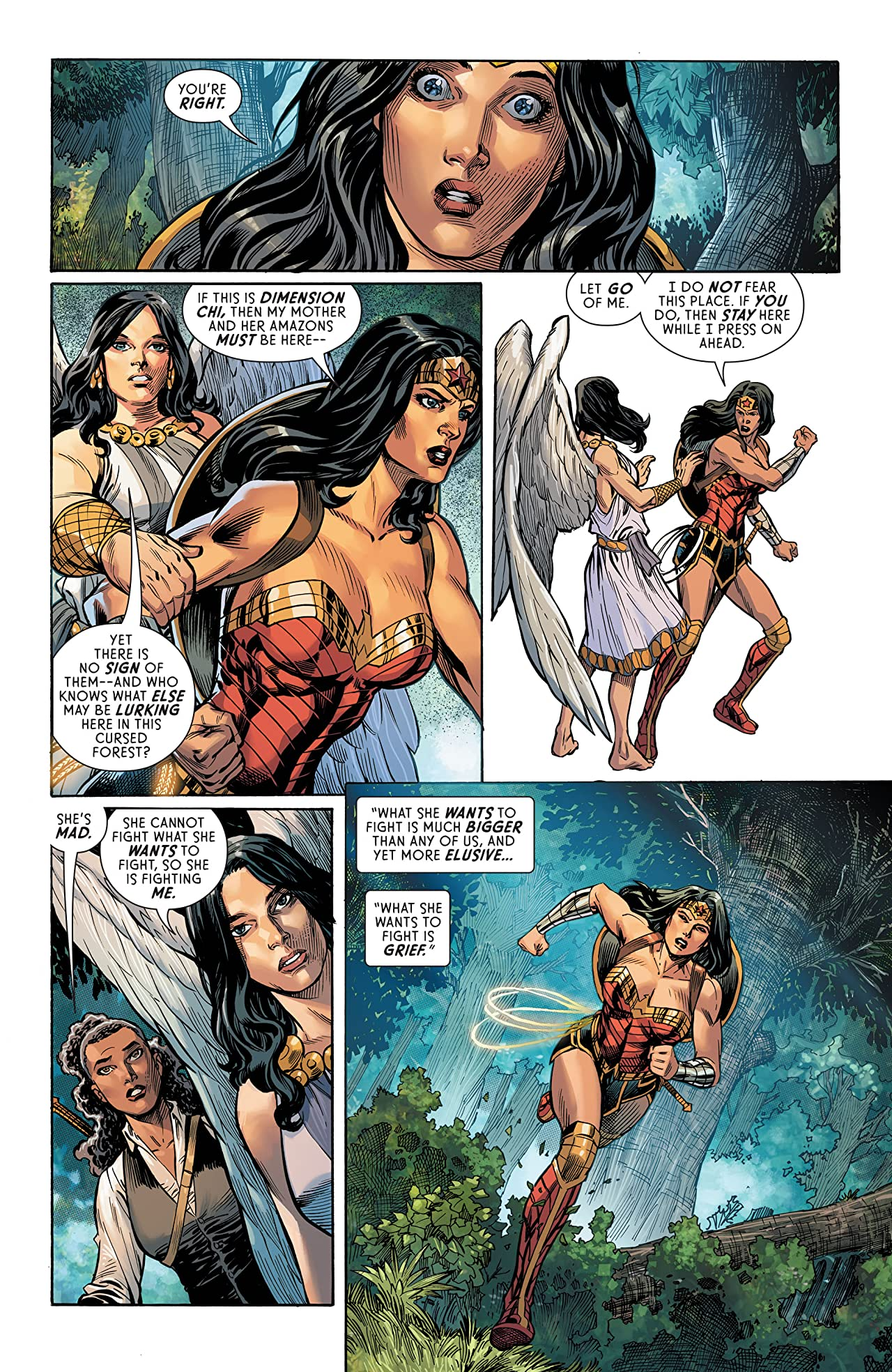 Wonder Woman: Loveless Vol. 3