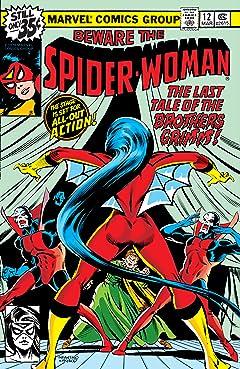 Spider-Woman (1978-1983) #12