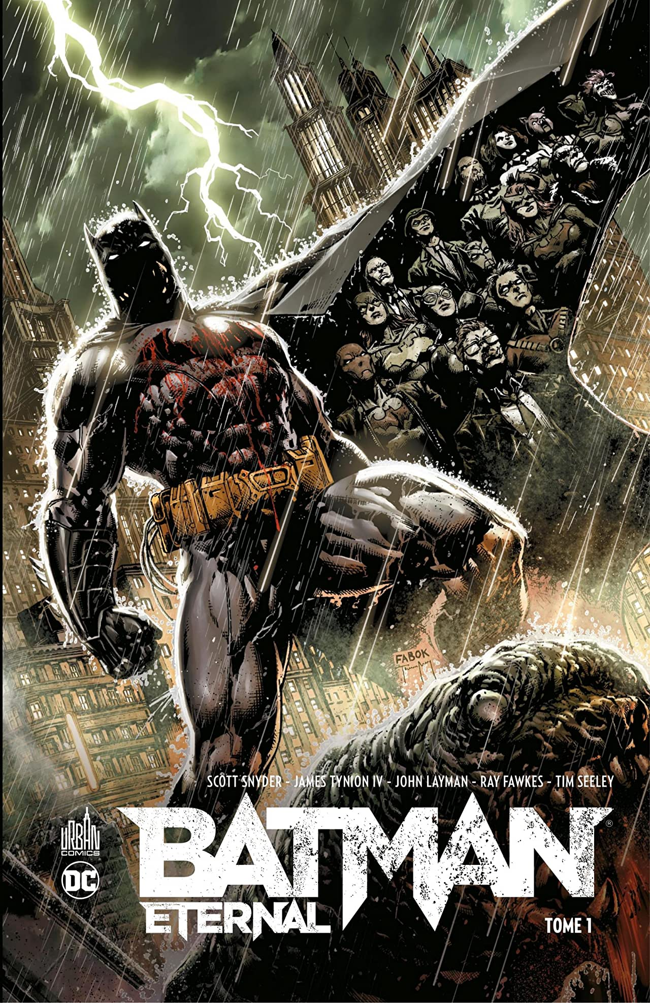 Batman: Eternal Vol. 1 #1