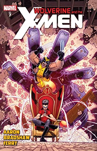 Wolverine and the X-Men By Jason Aaron Tome 7