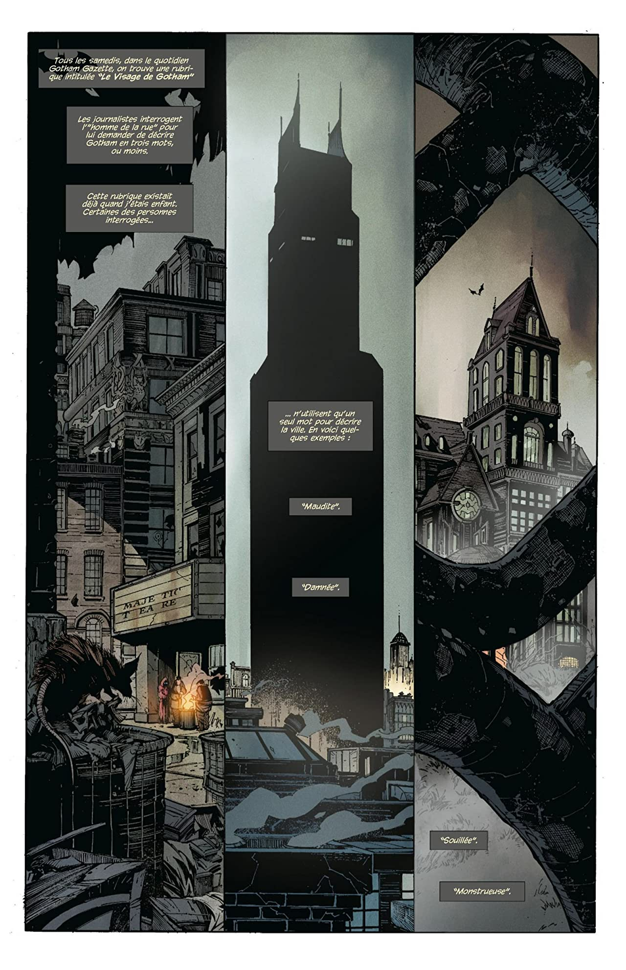 Batman: La Cour des Hiboux #1