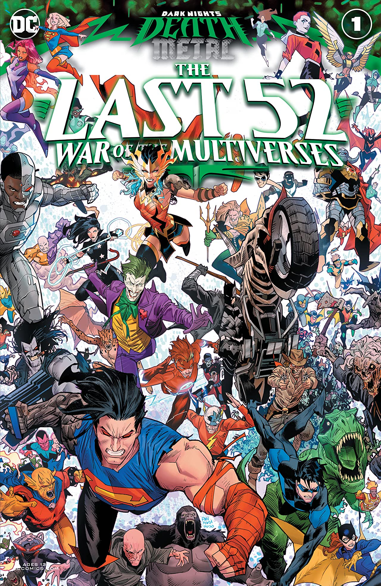 Dark Nights: Death Metal The Last 52: War of the Multiverses (2020-) No.1