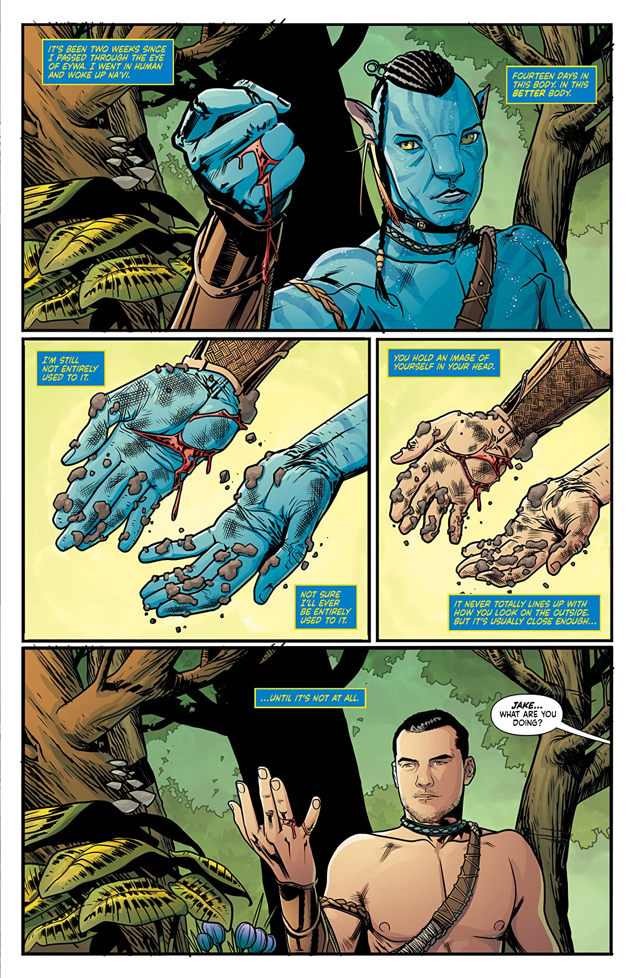 Avatar: The Next Shadow #1