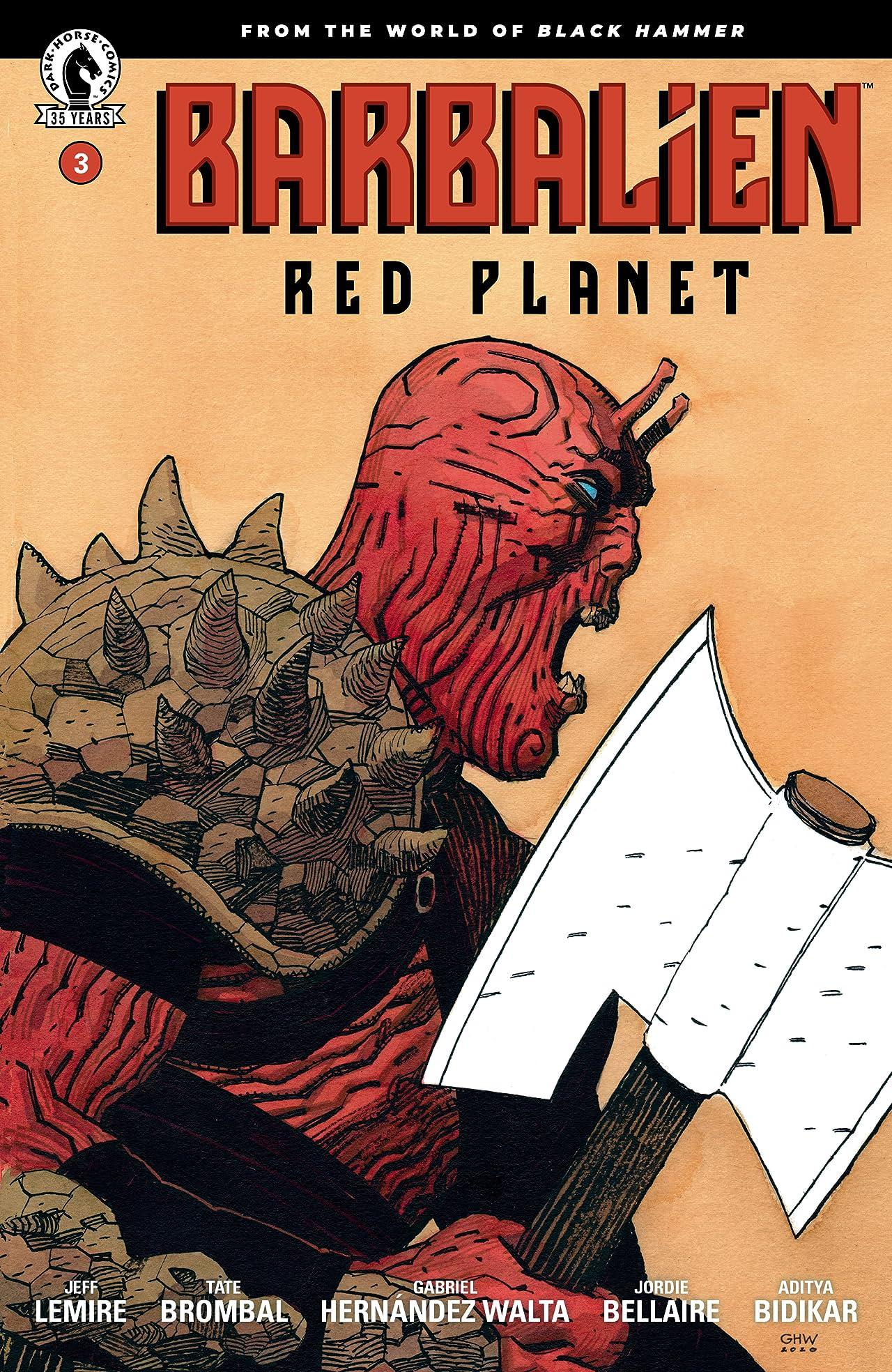 Barbalien: Red Planet #3