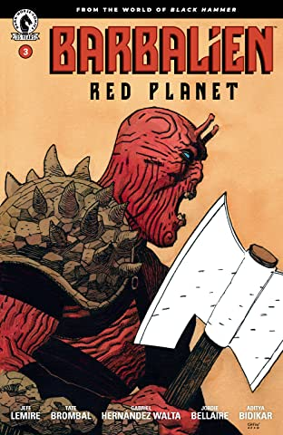 Barbalien: Red Planet No.3