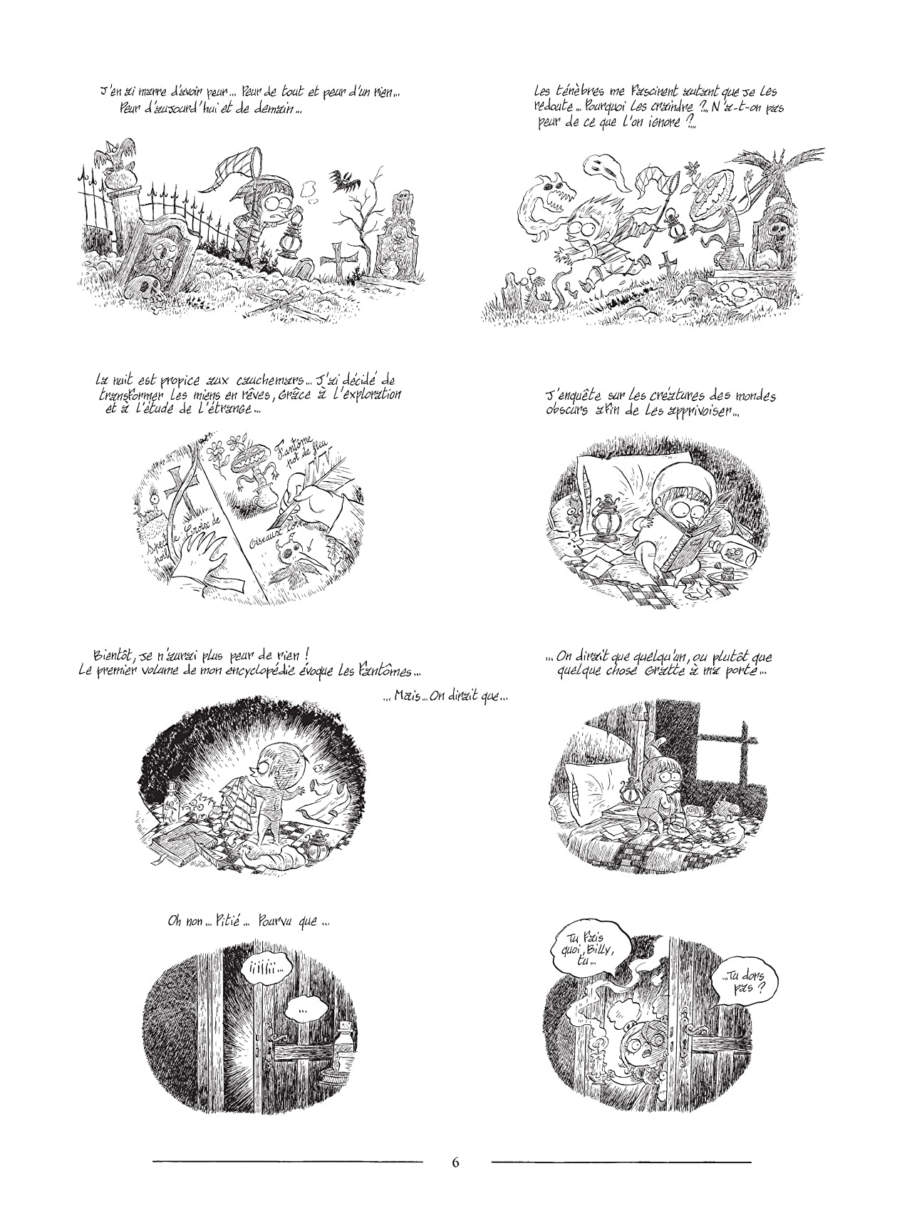 L'Encyclopédie curieuse et bizarre par Billy Brouillard: Les Fantômes
