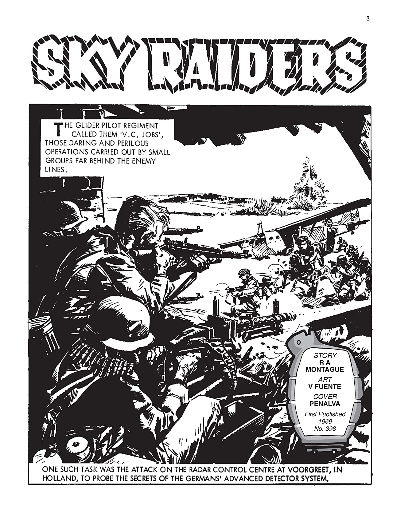 Commando #5404: Sky Raiders
